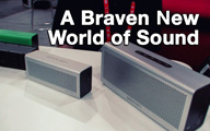 Braven Speakers at CES 2013