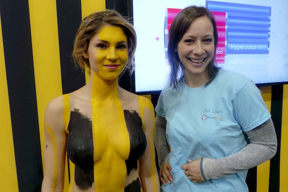 Hyper Body Painting CES
