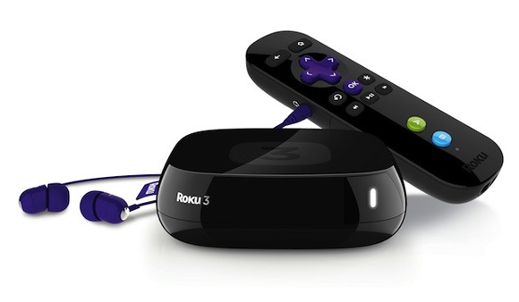 Roku 3 Streaming Box and Remote