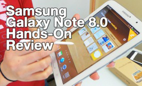 Samsung Galaxy Note 8.0 First Look & Review