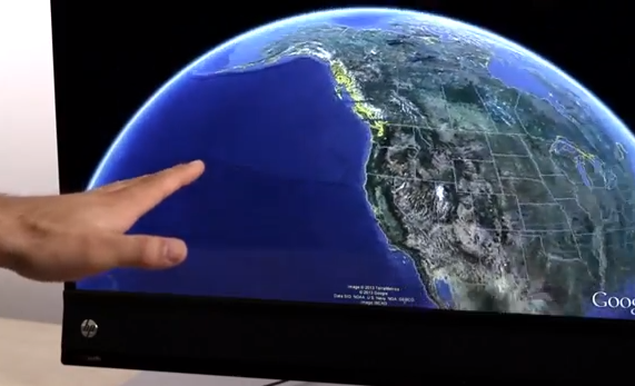Google Earth - Leap Motion