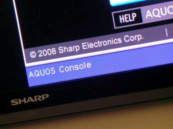 Sharp Aquos TVs Are Seriously Out of Date