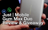 Gum Max Duo Review & Giveaway! (Portable Battery Pack)