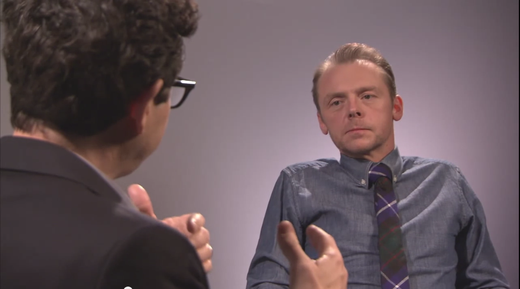 JJ Abrams and Simon Pegg Talk Star Wars