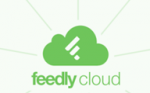 Feedly Cloud Logo