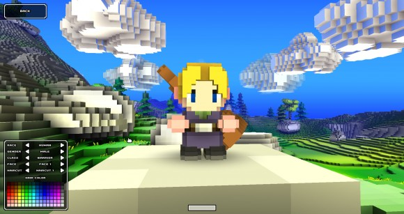 Cube World Character Creation