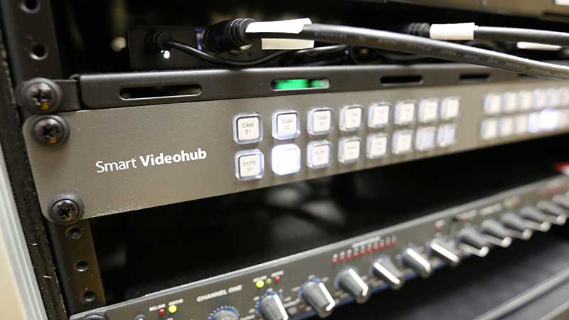 Blackmagic Design Smart Videohub Lights