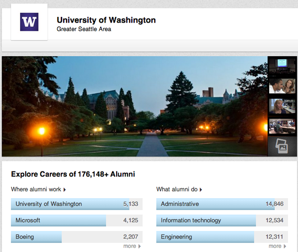 University of Washington on LinkedIn