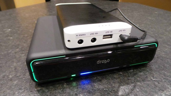Battery Powered Drobo Mini