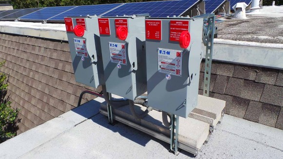Solar Panel System Shutoff Switches