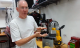 John P with Band Saw