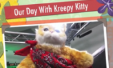 Kreepy Kitty on Geek Beat Vlog 49