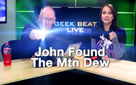 Cali Lewis and John P on Geek Beat Live 116