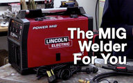 Lincoln Electric Welder on GeekBeat Episode 728