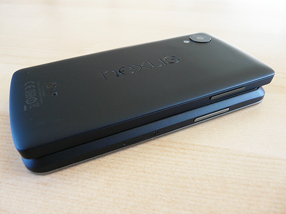 Nexus 4 and Nexus 5 comparison