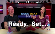 Cali Lewis and John P on Geek Beat Live Episode 118