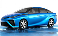 Toyota Hydrogen Fuel Cell Car on GeekBeat Episode 759
