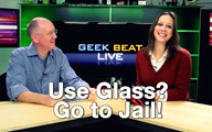 Cali Lewis and John P on Geek Beat Live Episode 122