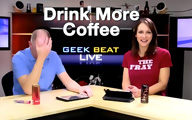 Cali Lewis and John P on Geek Beat Live Episode 123