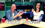 Cali Lewis and John P on Geek Beat Live Episode 124