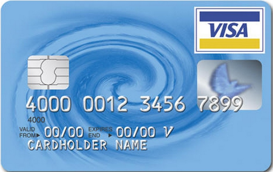 Smart Chip Style Credit Card