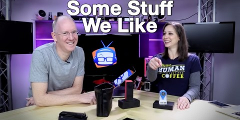 Cali Lewis and John P on GeekBeat Episode 815