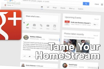 Tame your GPlus HomeStream