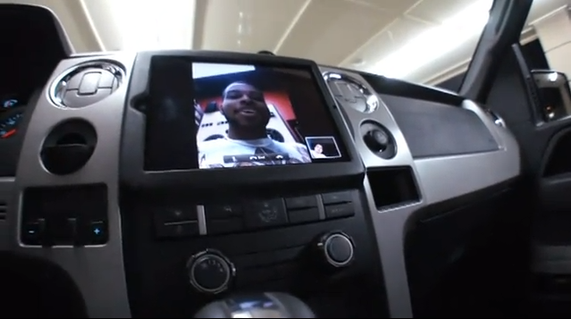 iPad 2 Ford F150 FaceTime
