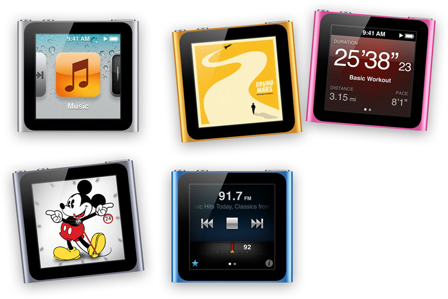 iPod Nano 6th Gen Update Brings 7th Gen Features