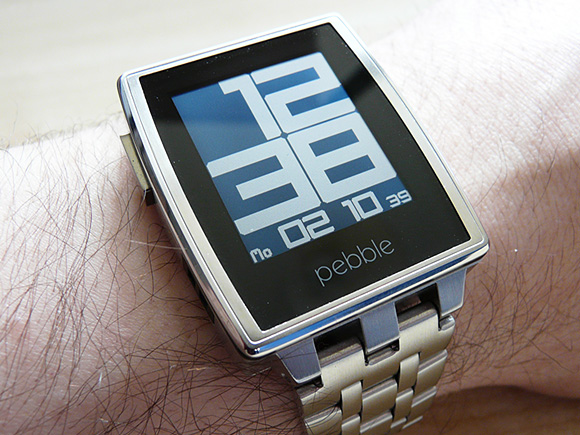 Pebble Steel Smartwach