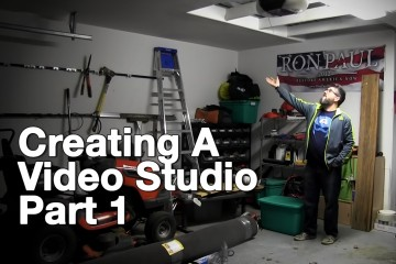Creating a home video studio part 1