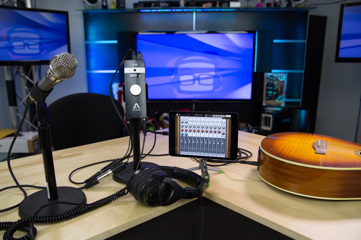 Apogee One Songwriter Setup
