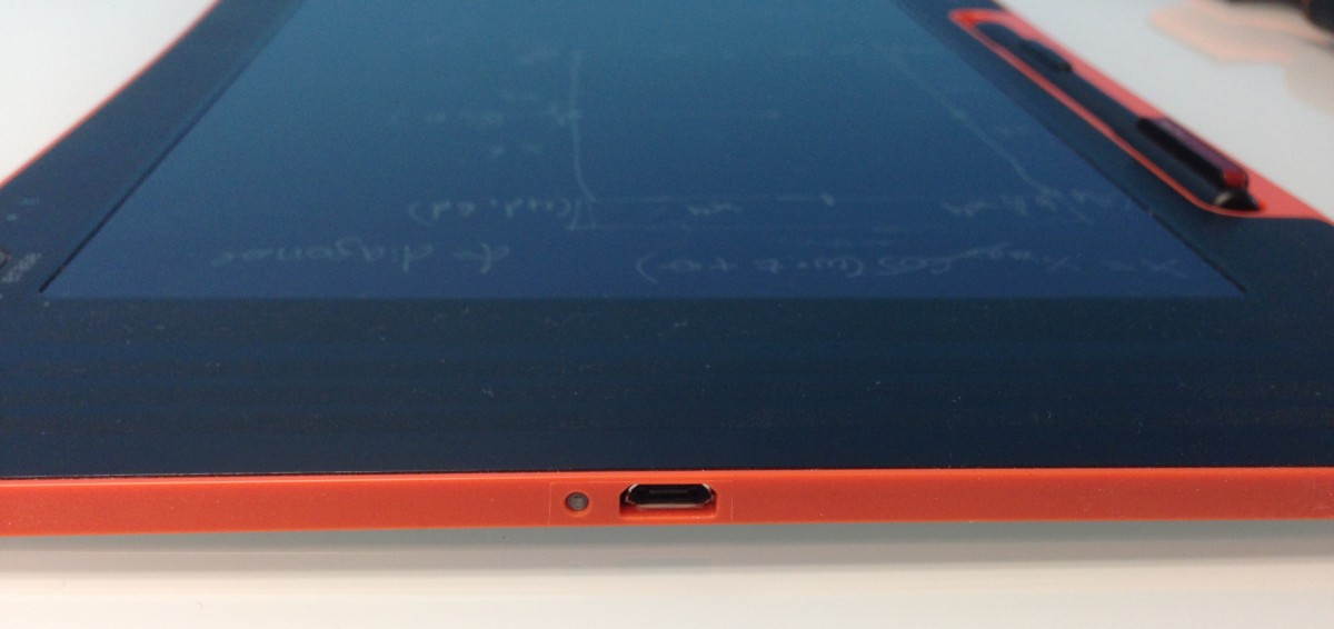 USB port on Boogie Board Sync