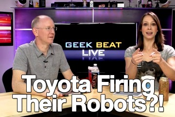 Cali Lewis and John P on Geek Beat Live Episode 133