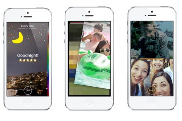Facebook Slingshot iPhone