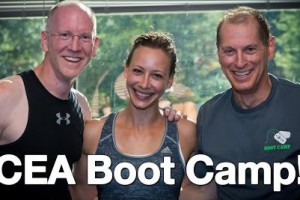 Cali, John and Gary at CEA Boot Camp