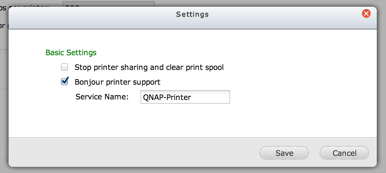QNAP-QTS-USB-printer-settings