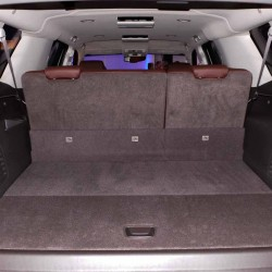 2015 Chevy Suburban Folded Rear Seats
