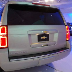 2015 Chevy Suburban Rear Brake Lights