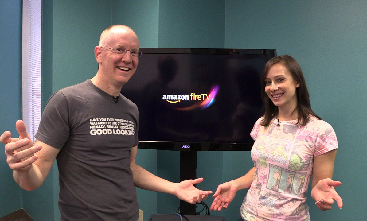 Amazon Fire TV unboxing and setup