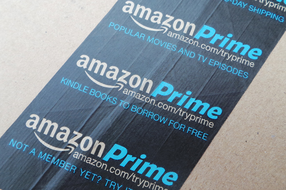 Amazon Prime Logo Tape