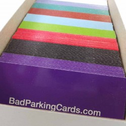 Bad Parking Cards Box