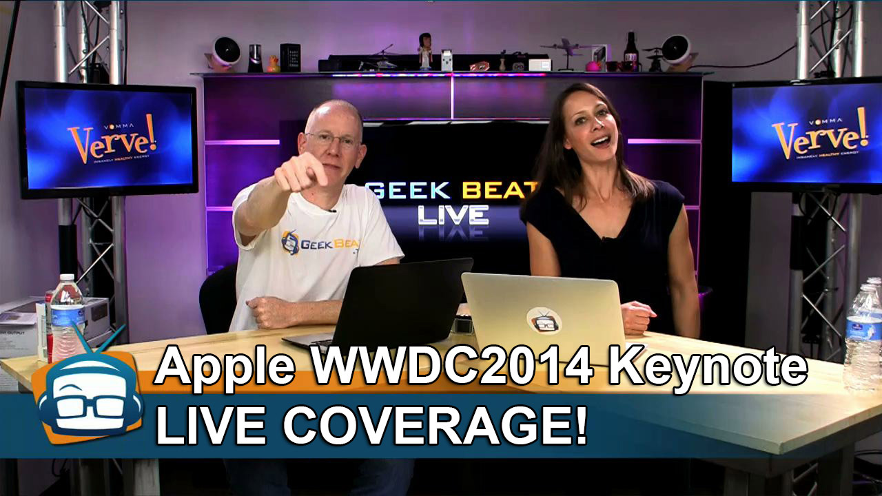Cali Lewis and John P on Geek Beat with WWDC Coverage