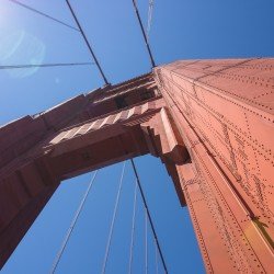 Golden Gate Bridge Arch