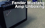 Fender Mustang Amp Unboxing