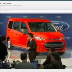 Ford Live Stream Transit Wagon
