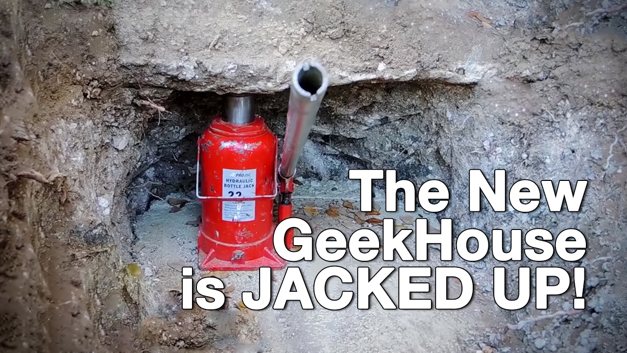 Foundation Repair on GeekBeat Episode 826