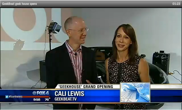 Geek House Opening on Fox 4