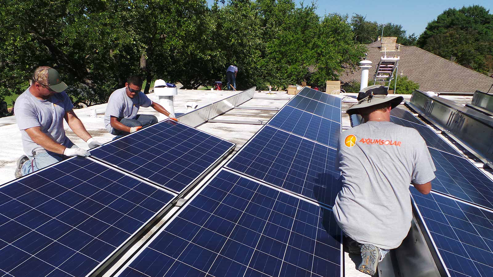 Installing the Solar Panels