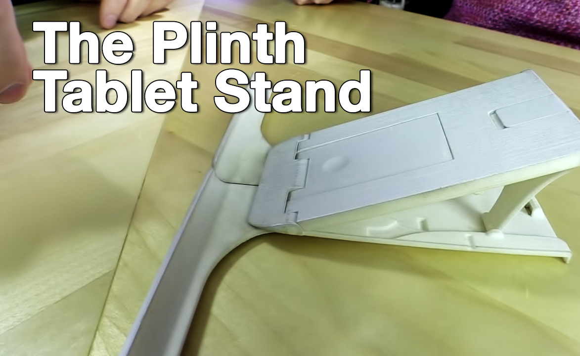Plinth Tablet Stand